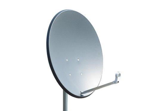 Preisvergleich Produktbild Opticum X80 Satelliten-Antenne (80 cm,  Stahl - anthrazit,  TÜV zertifiziert)