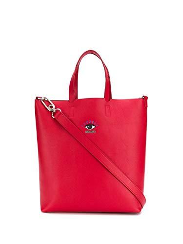Luxury Fashion | Kenzo Dames FA55SA701L3722 Rood Leer Handtassen | Lente-zomer 20
