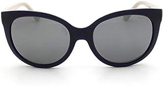 119f09e86 Óculos de Sol Grazi Massafera GZ4019 F342 Azul Lente Espelhada Prata Tam 56