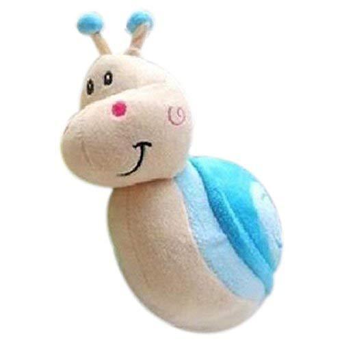 Zeagro Plüsch-Schnecke, kleine Schnecke, kleine Hochzeitspuppe, kleines Geschenk (blau)
