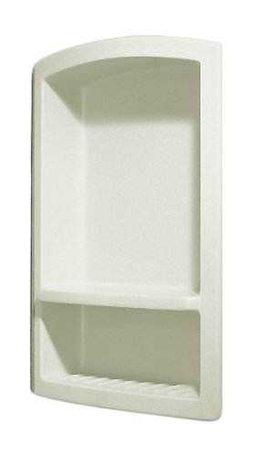 Swanstone RS-2215-018 Recessed Shampoo Shelf, Bisque Finish