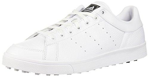 adidas Men's Adicross Classic Golf Shoe, FTWR White/FTWR White/core Black, 10.5 Medium US