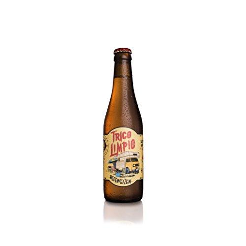 La Virgen Cerveza Artesana Trigo Limpio - pack 24 Botellas x 330 ml - Total: 7920 ml