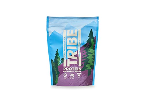 TRIBE Natural Protein Powder - Cocoa + Sea Salt - Vegan, Gluten & Dairy Free (500g / 12 Servings)