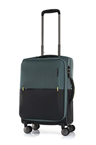 [サムソナイト] スーツケース ストラリウム スピナー 55/20 エキスパンダブル 機内持ち込み可 保証付 36L 55 cm 3kg ダークグリーン