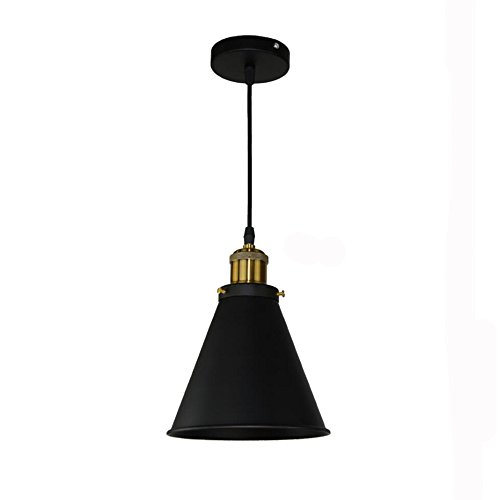 GZQ Ceiling Pendant Light Flush Mount Retro Metal Ceiling Lamp Shade Decoration for Hallway, Study Room, Office, Dining Room, Bedroom, Living Room,Coffee, Bar, Restaurant (Style 5)