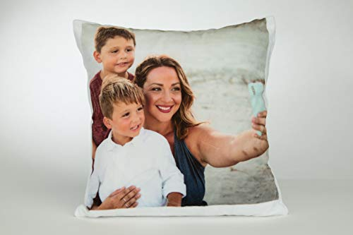 Personalised Cushion Cover Printed Photo Gift Custom Made Large 37cm Print Family, Kids, Fun, Memories