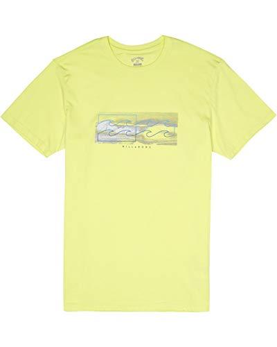 BILLABONG Herren T-Shirt Inverse Tee SS, Neo Lemon, XL, S1SS28