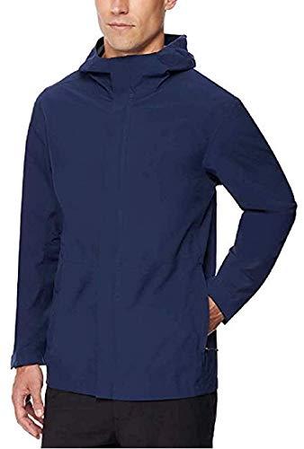 32 DEGREES Men's Rain Jacket (Navy - M)