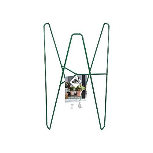 Elho Loft Urban Frame 30 - Jade Green - Exterior - L 24.9 x A 24.9 x A 38.6 cm