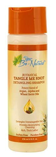 Luster's You Be Natural Curl Cheap mail order sales Beauty products Tan 4 Knot Pack Me of Shampoo