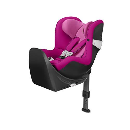 Asiento de automóvil Cybex Gold Sirona M2 i-Size, incluye SensorSafe, desde el nacimiento hasta aproximadamente 4 años, desde 45 cm a aproximadamente 105 cm, máximo 19 kg, incluye Base M, Fancy Pink
