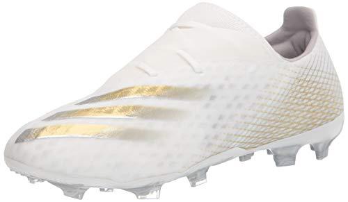 adidas Zapatillas de fútbol X Ghosted.2 para hombre, negro, 9.5