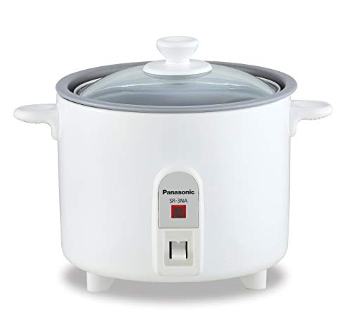 PANASONIC SR-3NAW Automatic Rice Cooker (Color: White )