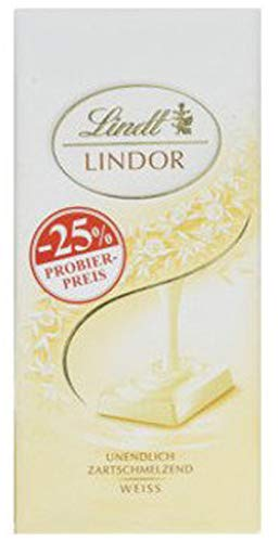 Lindor Tafel, Weiss, Promotion (1 x 100 g)