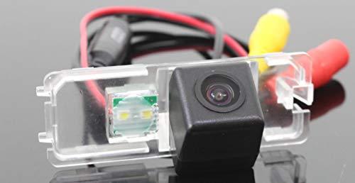 Sunshine Fly 170 Grad CCD Einparkkamera Nachtsicht Kamera Einparkhilfe Farbkamera Rückfahrsystem Wasserdicht Auto Rückfahrkamera für Seat Größe: 77 * 28MM
