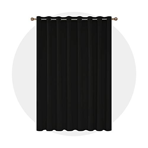 Deconovo Blackout Curtains 1 Panel Wide Width...