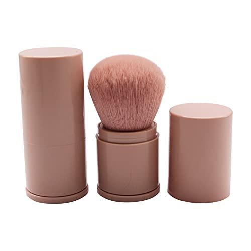Pinceau de Maquillage Rétractable Brosse de Maquillage Multifonction Pinceau à Poudre Professionnelle Pinceaux pour Fond de Teint et Poudres pour les yeux,les lèvres,le visage,le fond de teint. (B)
