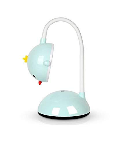 LG Snow Lámpara De Escritorio De Dibujos Animados 6W Protección De Los Ojos De Lectura Táctil Luz De La Lámpara De Carga Tabla Interruptor USB Color Tres Velocidad Temperatura Promise Brillo Funciones