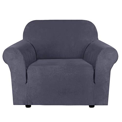Funda de sofá de Felpa de Terciopelo de Alta Elasticidad, Repelente al Agua, Protector de Muebles, Fundas de sofá de Gamuza, Protector de sofá Ajustado Fundas d
