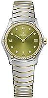 Ebel ladies 1216447A sport classic 18k gold & steel swiss quartz watch