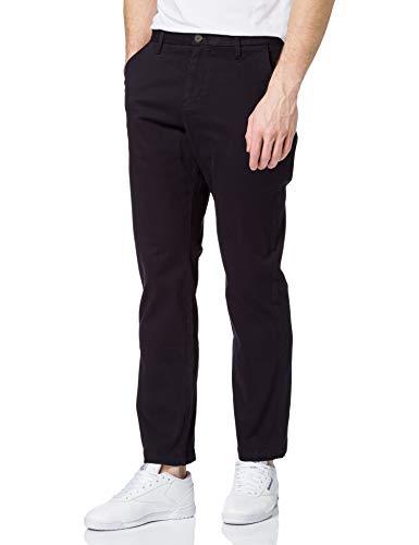 MERAKI Pantaloni Chino in Cotone Uomo, Blu (navy), 38W / 34L, Label: 38W / 34L