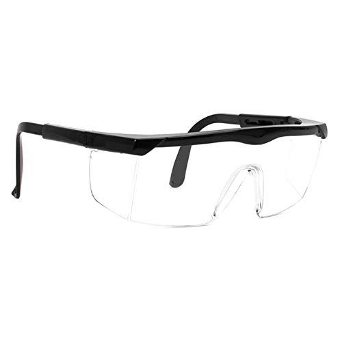 MAXJULI Goggles Lab Safety Glasses for Men Women Kids,UV Protection,Protective Eyewear?Black?