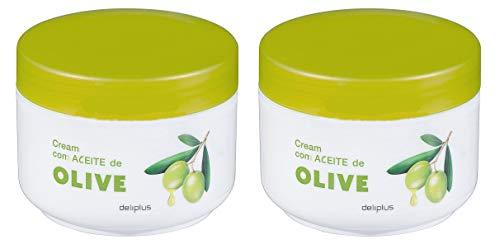Creme anti ride hydratante à l'olive nutritive-200ml
