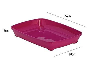 Cat Petite boîte bac à litière avec ou sans bols et pelle Poêle WC Loo Chaton