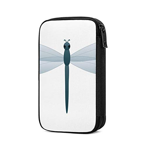 Travel Cable Organizer Bag,Dragonfly Electronics Accessories Case Portable Cable Organizer for Cable,Cord,Charger,Phone,USB,Sd Card