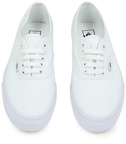 Vans U Authentic - Baskets Mode Mixte Adulte, Blanc (True White), 42.5 EU