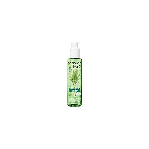 Garnier Bio Gel Limpiador Detox Lemon grass con Agua de Flor de Aciano Ecológica - 150 ml