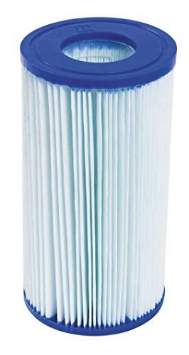Bestway 58476 - Filtro de Agua Anti-Microbial Tipo III para Depuradora de Cartucho 5.678 litros/hora y Depuradora Skimmer de litros/hora 2.574 litros/hora