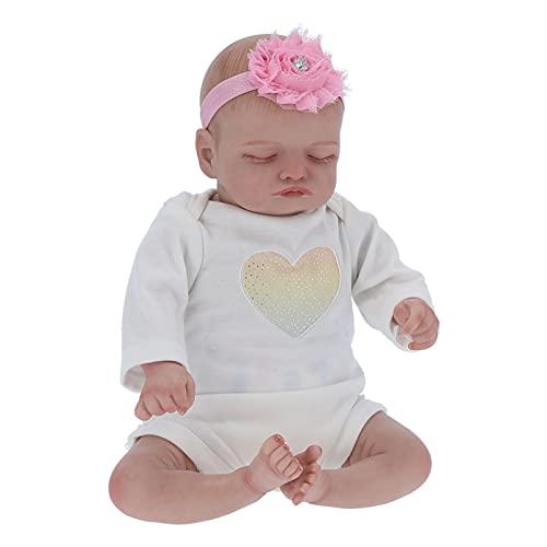 Doll Baby Doll 15.7 pulgadas de muñeca recién nacida realista Simulación de muñeca Muñeca de bebé de la vida real Muñeca de bebé para bebé para dormir con biberón y chupete Para niños de 3 4 5 6 7años