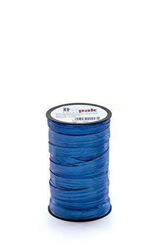 Italpak Regalo Polysilk Metallizzato Blu, Nastro Decorazioni, 50 m, 50m