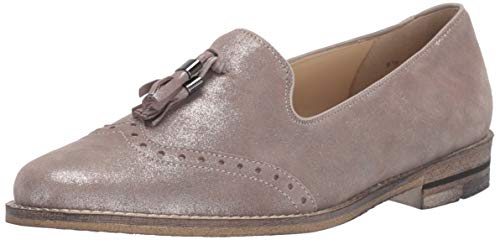 ARA Women's Kayla Shoe, Taupe Glamour Kid, 4 Narrow/Wide Shaft UK (6.5 US)