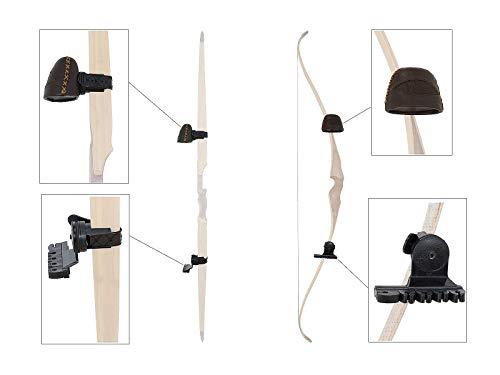 Buck Trail Bogenköcher Anbauköcher Leder Recurvebogen braun PKL-BT-01-70169