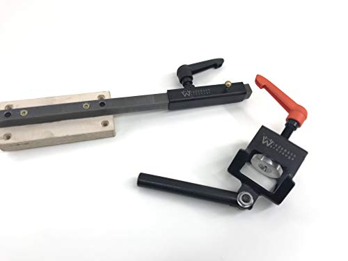 Wiedemann Röhrenschleifsystem für Fingernagelschliff, verwendbar bis 35mm Breite Röhren, Drechsler drechseln, Woodturner Woodturning
