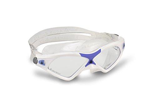 Aqua Sphere Seal XP2 - Gafas de natación para Mujer (Lente Transparente), Mujer, Color Morado - White/Lavender, tamaño n/a