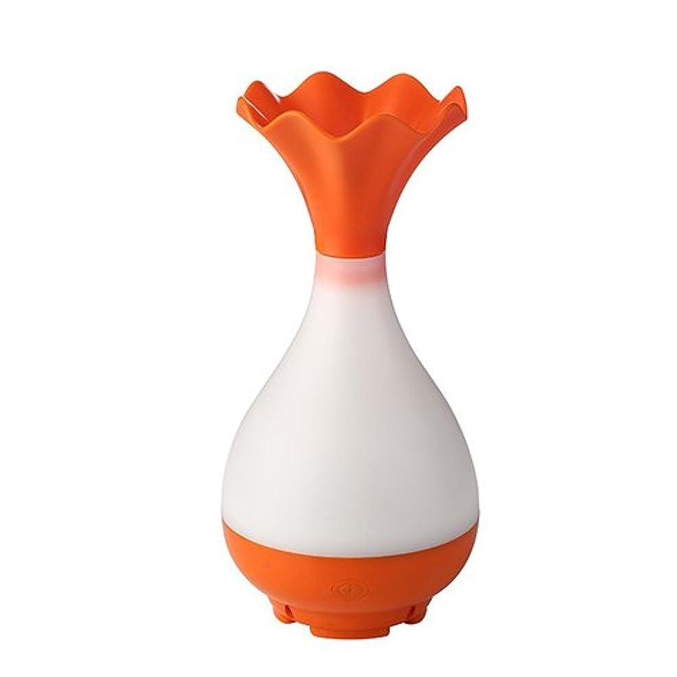 退屈なアイデア慎重Mystic Moments | Orange Vase Bottle USB Aromatherapy Oil Humidifier Diffuser with LED Lighting