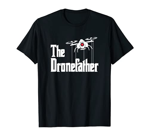 Hombre The Dronefather - Drone Pilot & RC Drone Camiseta
