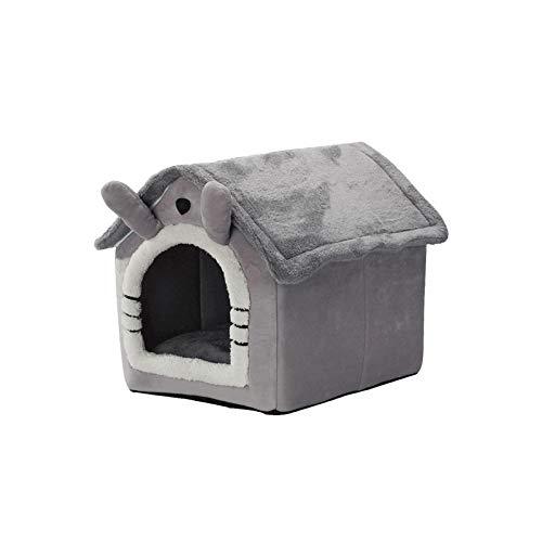 Hundehütte Hund Katze Zwinger Haus Bett Aushaltbares Codurastoff, Waschbar Bei 30 ° C, Beständigkeit Gegen Kratzer, Zur Einfachen Reinigung