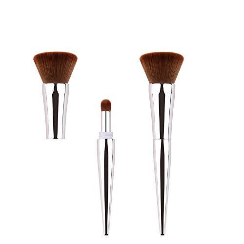 Brosses Fond de teint pinceau Kabuki à fond plat pour le visage parfait pour mélanger de la crème liquide ou des cosmétiques en poudre sans défaut Maquillage pour les femmes