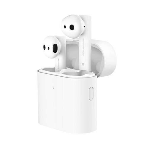 Xiaomi Mi True Wireless Earphones 2, Auriculares inalámbricos sin Cables, conexión Bluetooth 5.0, Control Doble Tap, Audio Codec SBC, AAC, LHDC, Compatible con iOS y Android (Versión Global)