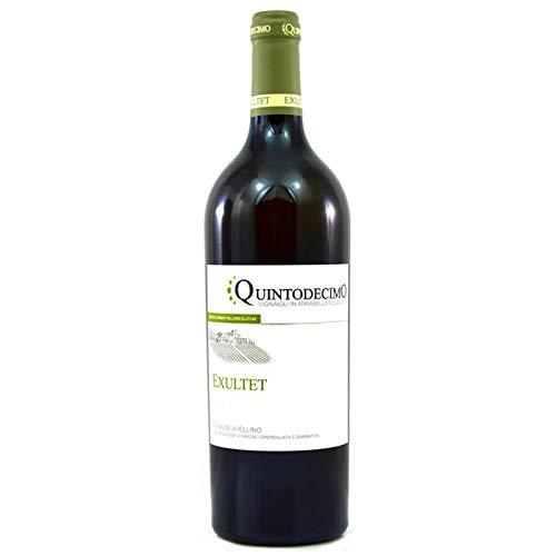 Vino Fiano di Avellino Exultet DOCG bianco -Quintodecimo - Cartone da 6 Pezzi