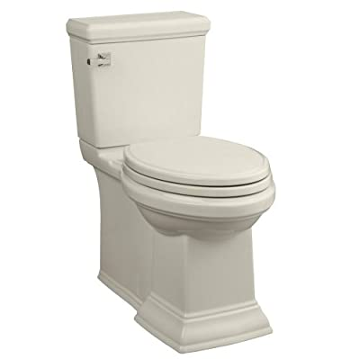 American Standard Town Square Concealed Trapway RH Elongated Toilet with Seat