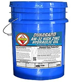 Duragard AW32 Premium High Zinc HVI Hydraulic Oil, 5 Gallon, Pail