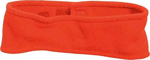 Playshoes Fleece-Stirnband Capo d\'Abbigliamento, Rosso (Rot), Taglia Unica Kinder-Unisex