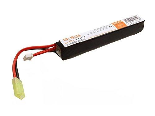 GSG Airsoft Batería LiPo 11,1 V 1450mAh solo Stick 11,5 x 16,5 x 1,9cm) con Mini TAM Conexión