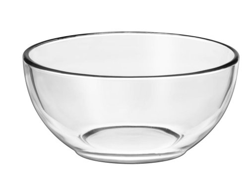 Libbey Moderno Glass Cereal Bowl in Clear, 12 piece set
